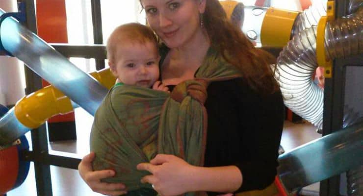 baby wearing feature