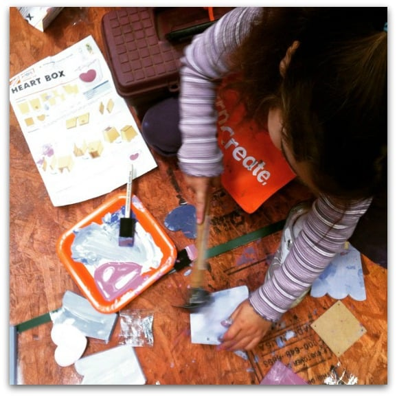 Mom review first saturday home depot kids workshop for Kids crafts at home depot