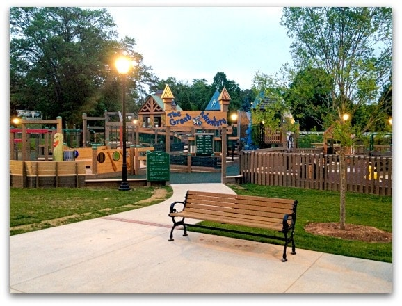 Cleveland Park in Spartanburg's playground