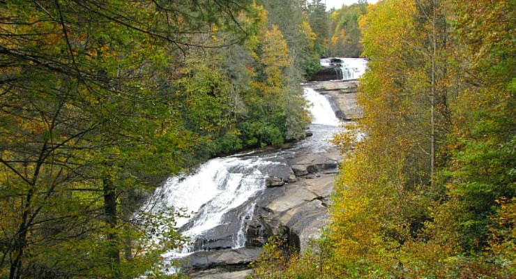 Visit the Waterfalls of DuPont State Recreational Forest ... on map of nc arboretum, map of pisgah national forest, map of mount mitchell, map of dupont state forest, map of transylvania county, map of blue ridge parkway, map of chimney rock, map of mount pisgah, map wa state park, map of grandfather mountain,