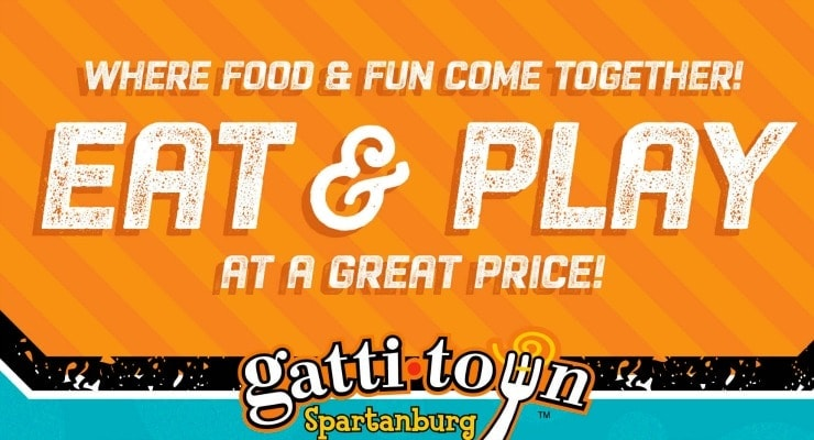 picture relating to Gatti Town Coupons Printable named Theres Magic at Gatown in just Spartanburg