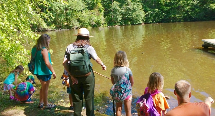 Things to do in greenville sc inquisitive kids will love these ranger led hikes at paris mountain publicscrutiny Images