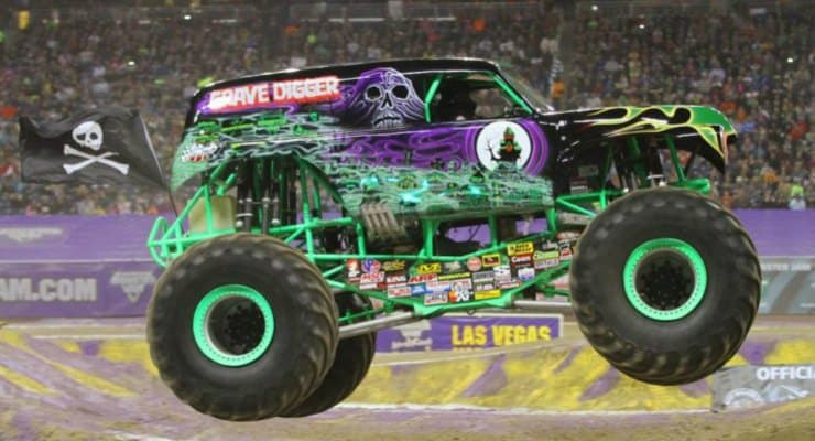 Toys For Trucks Greenville : See a monster truck for free in greenville