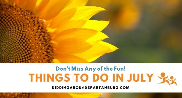 Things to Do in July in Spartanburg, SC