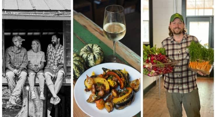 Owners and Food at Topsoil Kitchen