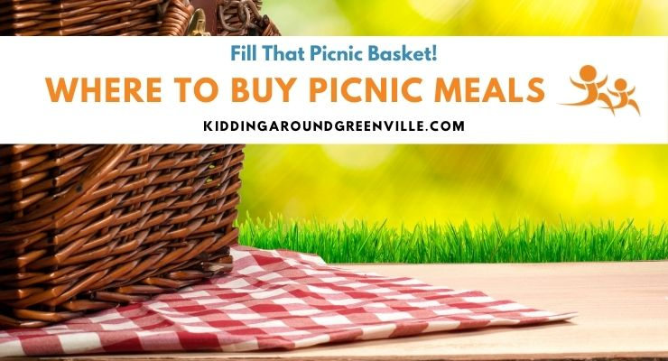 Picnic basket to fill